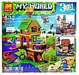 Конструктор Майнкрафт Minecraft My World Дом-корабль зомби, 279дет, фото 3