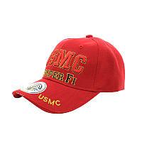 Мужская бейсболка Han-Wild USMC Red кепка