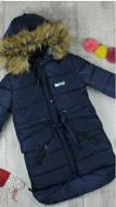 Курточки зимові для дівчаток на ріст:140,146,152см