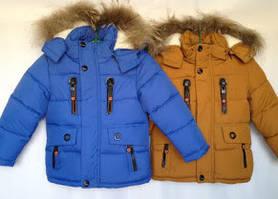 Курточки зимові для хлопчиків на ріст 104 см