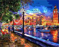 Картина рисование по номерам Babylon Жизнь в Лондоне VP1275 40х50см набор для росписи, краски, кисти, холст, фото 1