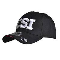 Бейсболка Han-Wild CSI Black модная мужская кепка легкая стильная