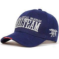 Бейсболка Han-Wild Sealteam Blue мужская кепка спортивная стильная