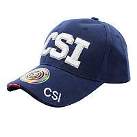 Бейсболка Han-Wild CSI Blue стильная мужская кепка синяя для мужчин