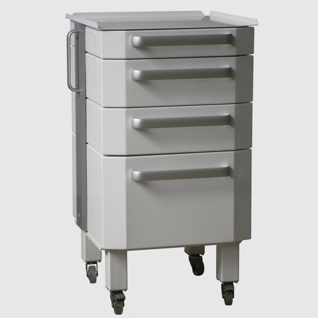 Тумба медицинская кабинетная для врача стоматолога металлическая ANDY-BOX DService