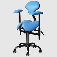 Крісло лікаря-стоматолога для роботи з мікроскопом, стілець стоматолога SADDLE PRO DService