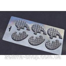 Пластиковая форма для шоколада Сердце- пазл