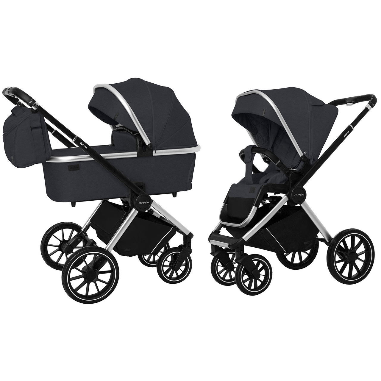 Коляска 2 в 1 Carrello Optima CRL-6503 (2in1) Platinum Grey