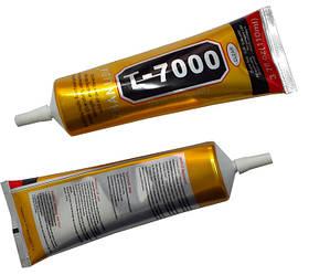 Клей силиконовый Т7000 черный (110 мл) для приклеивания сенсоров и рамок