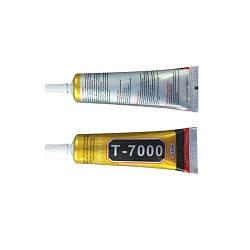 Клей силиконовый Т7000 черный (15 мл) для приклеивания сенсоров и рамок