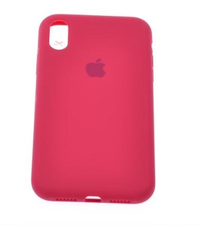 Чохол силіконовий Silicone Case iPhone XR червоний, Чохол для Apple iPhone iPhone XR червоний