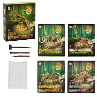 """Игровой набор """"Раскопки Динозавра"""" 3D 501-2-3-4-5, 5 видов"""