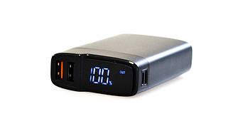 Зовнішній акумулятор Power Bank P10Q fast charge QC3.0/PD3.0 10000 mAh чорний, Зовнішній акумулятор Power Bank