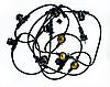 Гірлянда вулична 5м,10хЕ27 Белт-Лайт (круглий дріт) без ламп