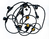 Гірлянда вулична 5м,10хЕ27 Белт-Лайт (круглий дріт) без ламп, фото 1