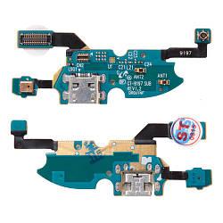 Порт зарядки и синхронизации Samsung I9192 Galaxy S4 Mini Duos со шлейфом и микрофоном