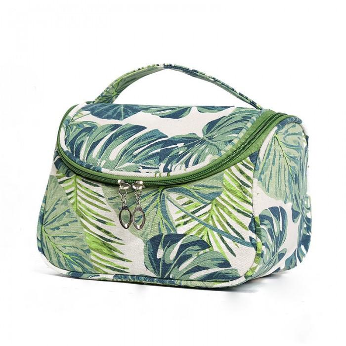 "Косметичка - чемодан ""Summer Tropic"", органайзер для косметики"