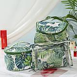 "Косметичка - чемодан ""Summer Tropic"", органайзер для косметики, фото 3"