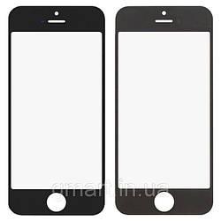 Захисне скло iPhone SE 2020 чорне, Скло дисплея iPhone SE чорне