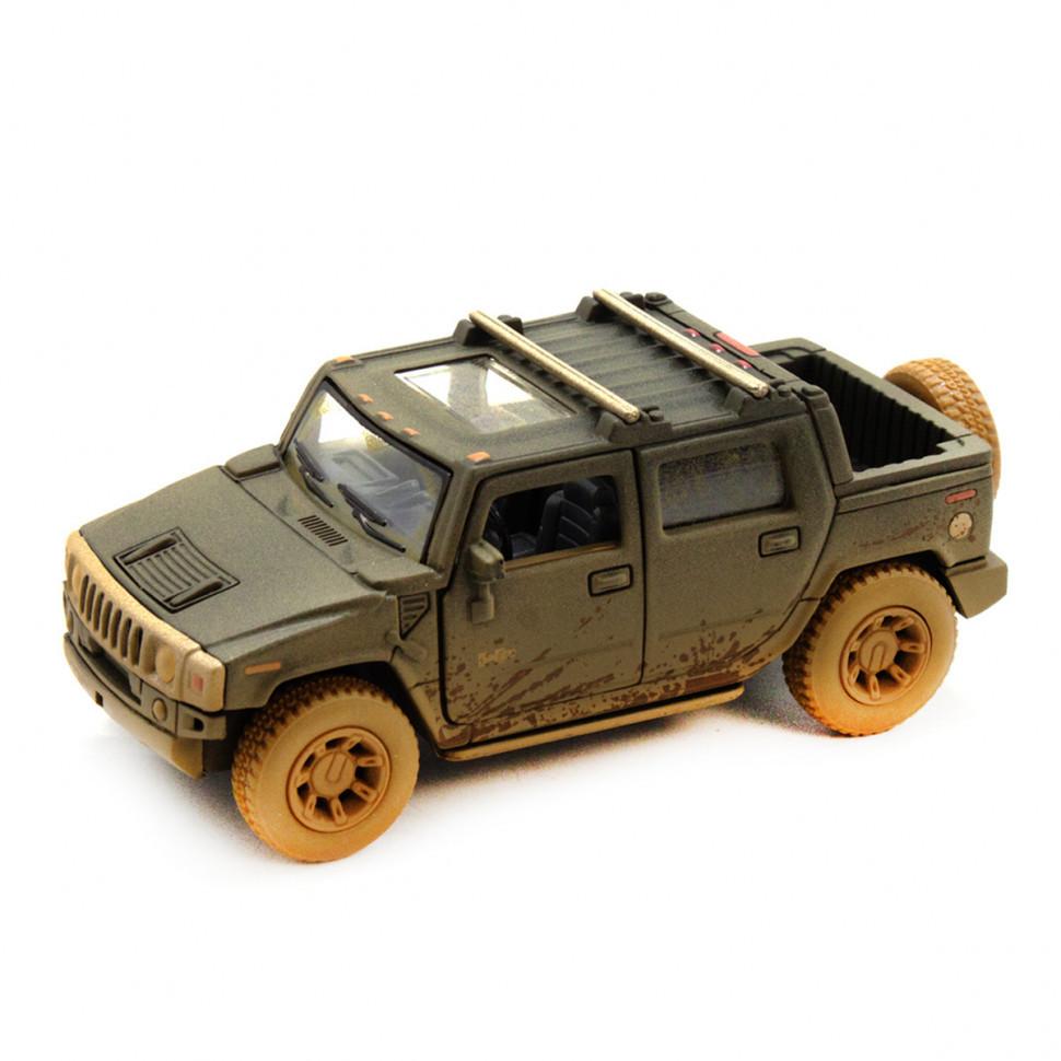 Игрушечная машинка металлическая Kinsmart KT5097WY Hummer H2 Черный