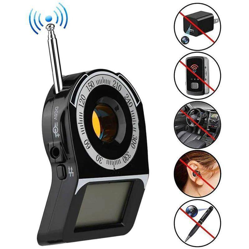 Детектор жучков и прослушки, обнаружитель скрытых камер i-Tech RF-3009 (усовершенствованная версия)