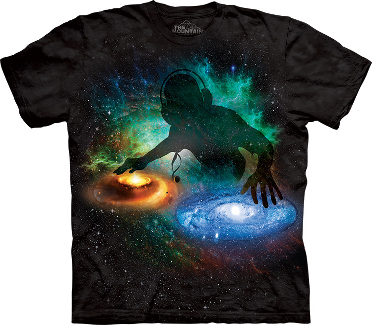 Футболка The Mountain - Galaxy DJ