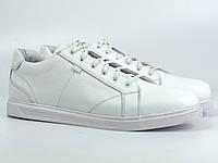 Кроссовки кеды повседневные белые мужские кожаные обувь весна лето Rosso Avangard Puran White Leather, фото 1
