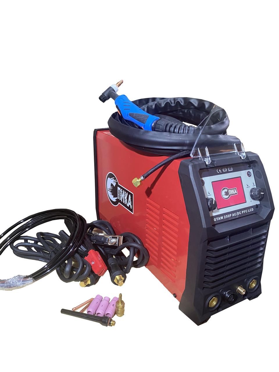 Аргонодуговой сварочный инвертор СПИКА GTAW 250P AC/DC PFC LCD