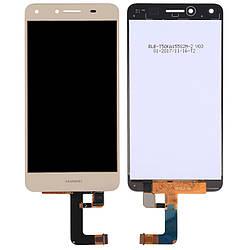 Дисплей Huawei Ascend Y5 II золотистий (LCD екран, тачскрін, скло в зборі), Дисплей Huawei Ascend Y5 II