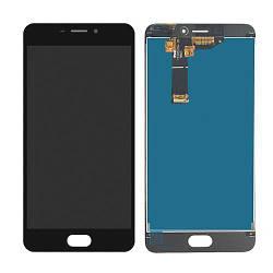 Дисплей Meizu M6 чорний (LCD екран, тачскрін, скло в зборі), Дисплей Meizu M6 чорний (LCD екран, тачскрін,