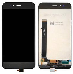 Дисплей Xiaomi Mi5X чорний (LCD екран, тачскрін, скло в зборі), Дисплей Xiaomi Mi5X чорний (LCD екран,
