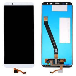 Дисплей для Huawei Mate 10 Lite белый (LCD экран, тачскрин, стекло в сборе), Дисплей для Huawei Mate 10 Lite