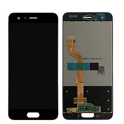 Дисплей для Huawei Honor 9 (LCD экран, тачскрин, стекло в сборе) черный, Дисплей для Huawei Honor 9 (LCD