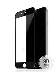 Защитное стекло 9D Apple iPhone 7 Plus / 8 Plus черное, Захисне скло для Apple iPhone iPhone 8 Plus чорний