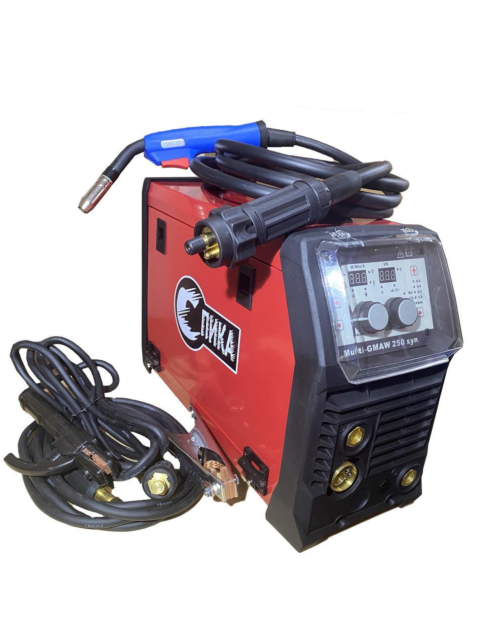 Сварочный полуавтомат инверторного типа СПИКА GMAW 250 syn