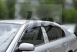 Дефлекторы окон (ветровики) Skoda octavia tour sedan liftback шкода октавия тур седан/ хетч/ лифтбек 2009+, фото 2