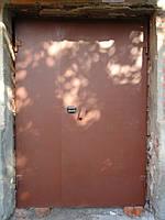 Подъездная стальная дверь с кодовым замком
