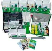 «КПЭ», комплект-практикум экологический, 15 показателей воды, воздуха, почвы
