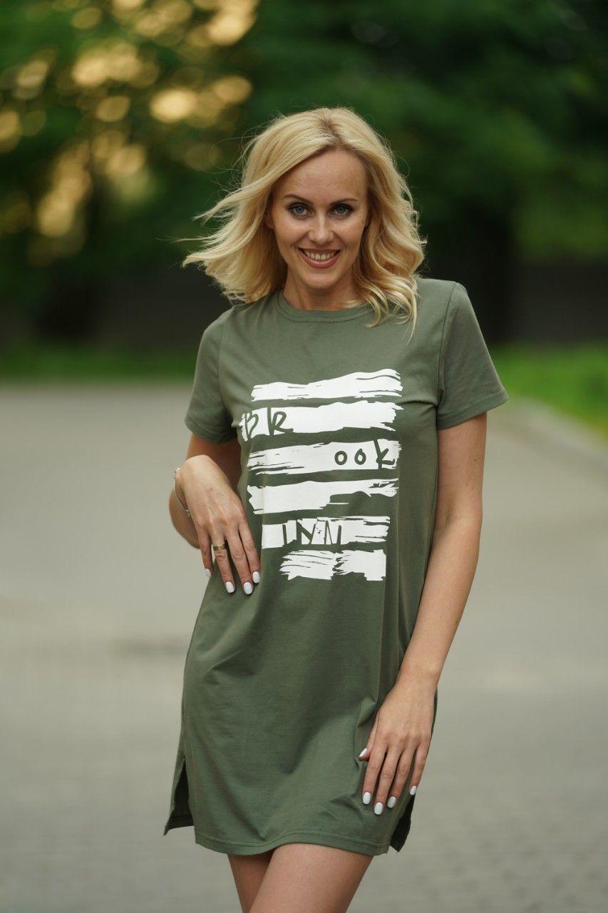 Женское летнее платье туника