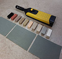 Набор твердого воска + воскоплав для реставрации ламината, мебели, плитки NEARBY