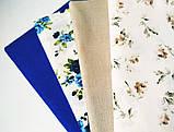 """Набор хлопковой ткани для рукоделия """" Ретро цветы"""", фото 2"""