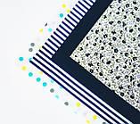 """Набор хлопковой ткани для рукоделия """" Синева"""", фото 2"""