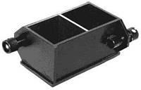 Форма куба 2ФК-100, для бетонных образцов 100х100х100мм 2-х гнездн. (метал)