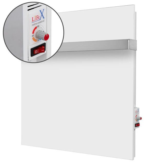 Основные преимущества керамического полотенцесушителя LifeX ПСК 400R белый