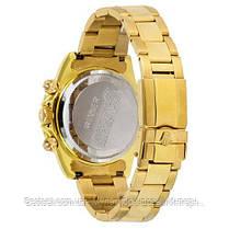 Часы мужские наручные механические с автоподзаводом Rolex Daytona Automatic Gold-Black Реплика ААА Ролекс, фото 3
