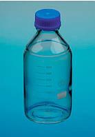 Бутыль 250 мл св.стекло, шир. горл. винт.кришка, Чехия