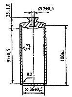 Пикнометр П-1 для определения плотности цементного раствора по ГОСТ 26798.1-96