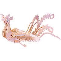 Игрушки из дерева Мир деревянных игрушек 3D пазл Феникс М033, КОД: 2436479