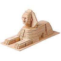 Игрушка из дерева Мир деревянных игрушек 3D пазл Сфинкс П057, КОД: 2436652
