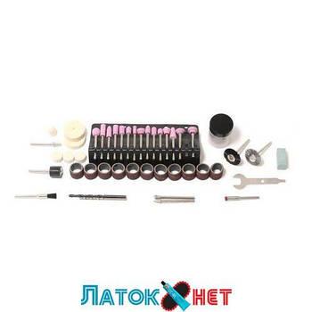 Набор аксессуаров для мини-дрелей 80 предметов в пластиковом кейсе RF-GSK080 Rock Force